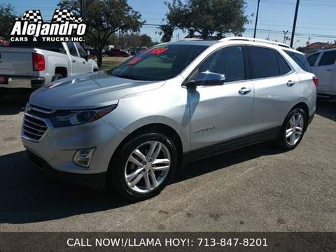 2018 Chevrolet Equinox for sale at Alejandro Cars & Trucks in Houston TX