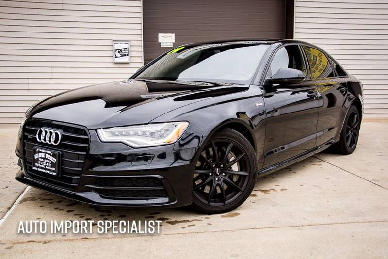 2014 audi a6 3 0t quattro prestige in south bend in. Black Bedroom Furniture Sets. Home Design Ideas