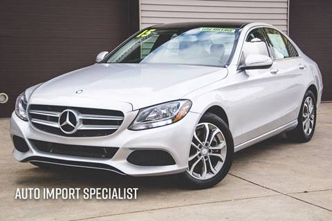 2015 mercedes benz c class for sale in indiana for Mercedes benz south bend in