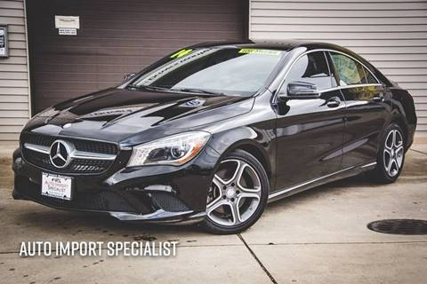 2014 mercedes benz cla for sale in indiana for Mercedes benz south bend in