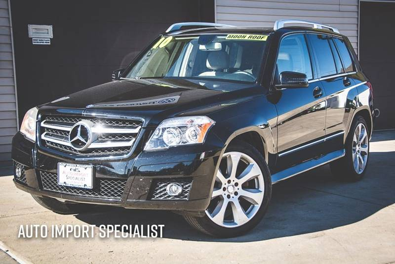 2010 Mercedes Benz GLK For Sale At Auto Import Specialist LLC In South Bend  IN