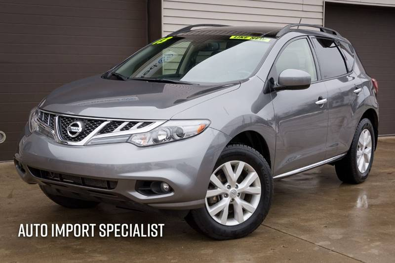 2013 Nissan Murano for sale at Auto Import Specialist LLC in South Bend IN
