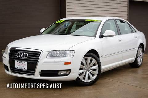 2009 Audi A8 L for sale at Auto Import Specialist LLC in South Bend IN