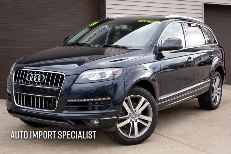 2011 Audi Q7 for sale at Auto Import Specialist LLC in South Bend IN