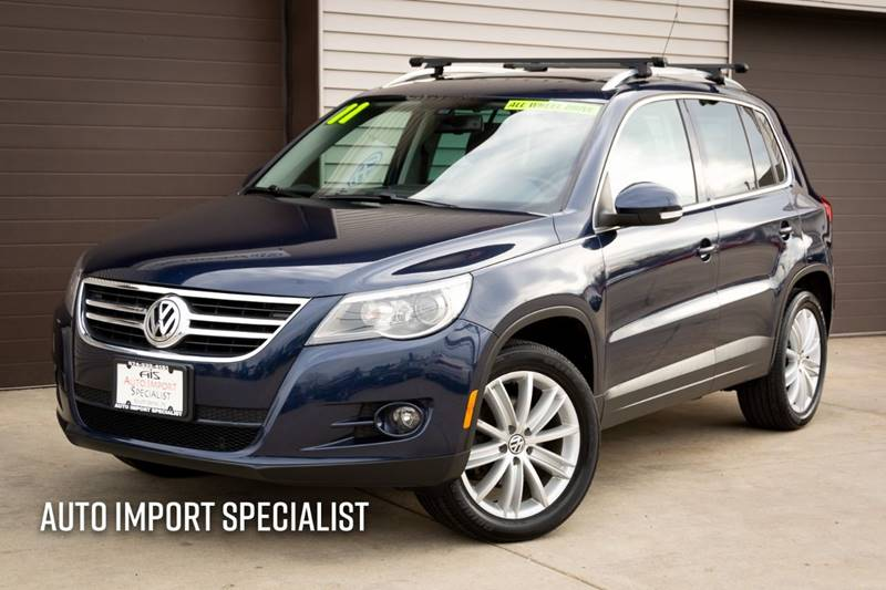 2011 Volkswagen Tiguan for sale at Auto Import Specialist LLC in South Bend IN