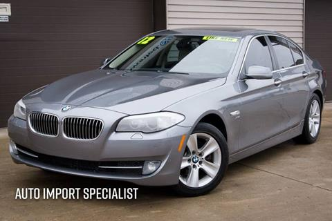 2012 BMW 5 Series for sale at Auto Import Specialist LLC in South Bend IN