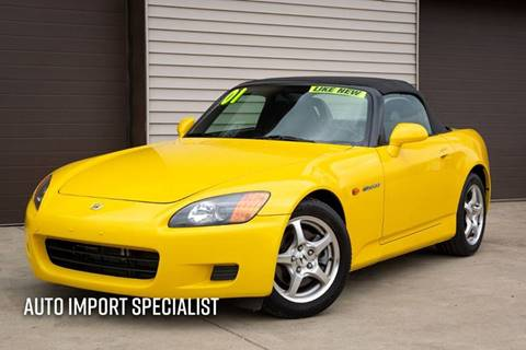 2001 Honda S2000 for sale at Auto Import Specialist LLC in South Bend IN