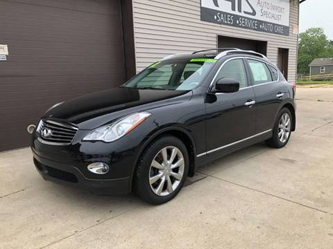 2012 Infiniti EX35 for sale at Auto Import Specialist LLC in South Bend IN