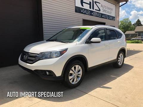 2013 Honda CR-V for sale at Auto Import Specialist LLC in South Bend IN