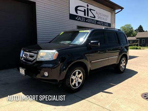 2011 Honda Pilot for sale at Auto Import Specialist LLC in South Bend IN