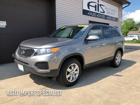 2011 Kia Sorento for sale at Auto Import Specialist LLC in South Bend IN
