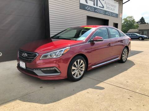 2016 Hyundai Sonata for sale at Auto Import Specialist LLC in South Bend IN