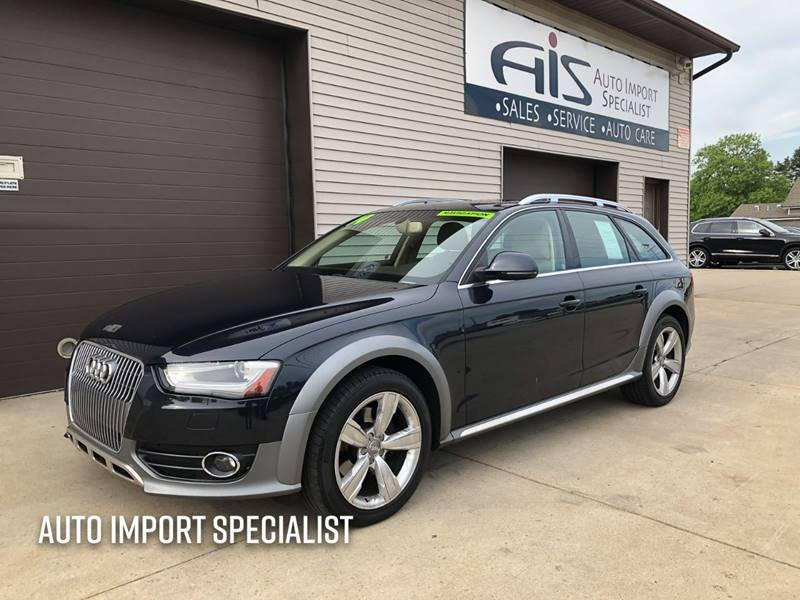 2014 Audi Allroad for sale at Auto Import Specialist LLC in South Bend IN