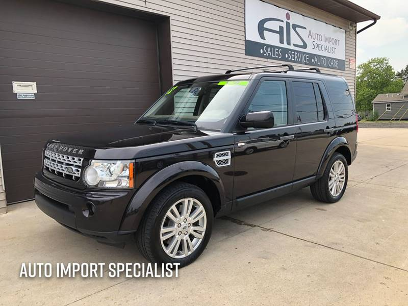 2012 Land Rover LR4 for sale at Auto Import Specialist LLC in South Bend IN