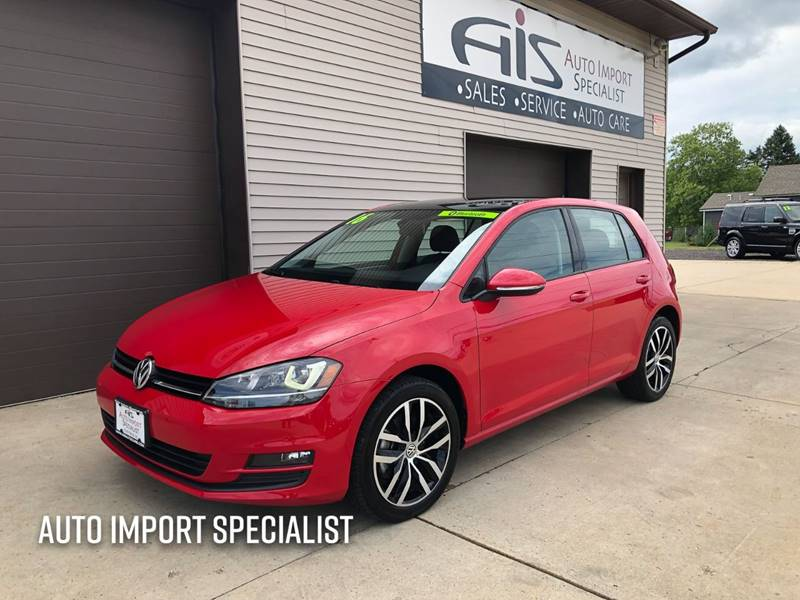 2016 Volkswagen Golf for sale at Auto Import Specialist LLC in South Bend IN