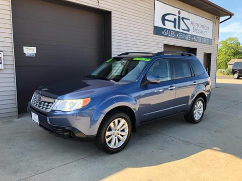 2011 Subaru Forester for sale at Auto Import Specialist LLC in South Bend IN