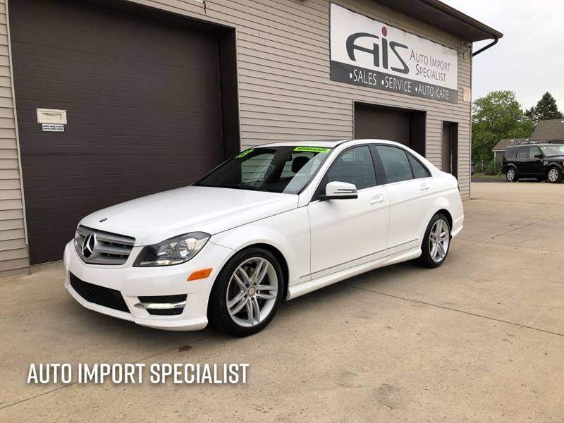 2013 Mercedes-Benz C-Class for sale at Auto Import Specialist LLC in South Bend IN