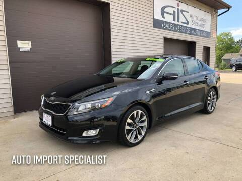 2015 Kia Optima for sale at Auto Import Specialist LLC in South Bend IN