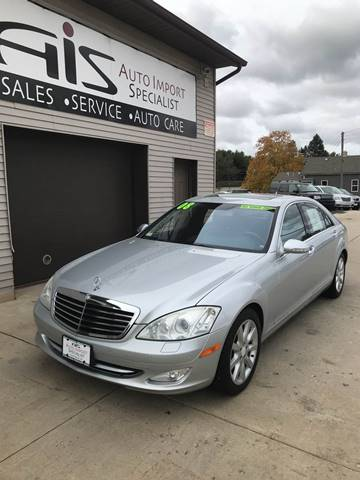 2008 Mercedes-Benz S-Class for sale at Auto Import Specialist LLC in South Bend IN