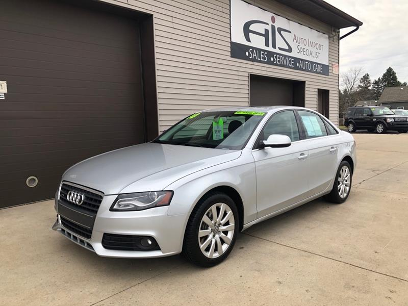 2010 Audi A4 for sale at Auto Import Specialist LLC in South Bend IN