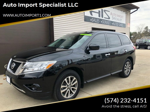 2014 Nissan Pathfinder for sale at Auto Import Specialist LLC in South Bend IN