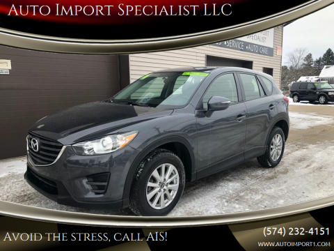 2016 Mazda CX-5 for sale at Auto Import Specialist LLC in South Bend IN