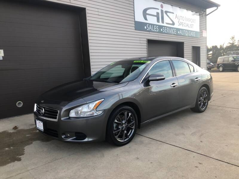 2014 Nissan Maxima for sale at Auto Import Specialist LLC in South Bend IN
