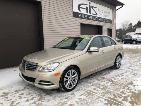 2012 Mercedes-Benz C-Class for sale at Auto Import Specialist LLC in South Bend IN