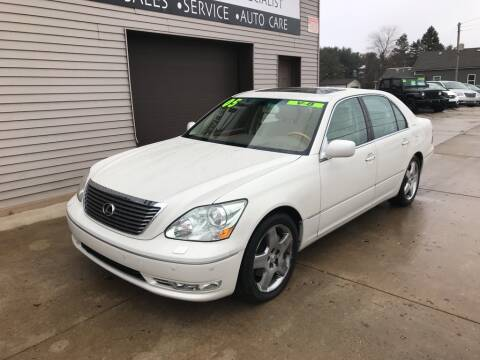 2005 Lexus LS 430 for sale at Auto Import Specialist LLC in South Bend IN
