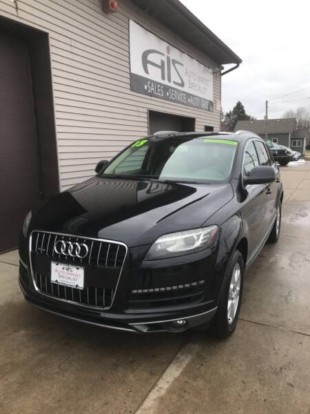 2013 Audi Q7 for sale at Auto Import Specialist LLC in South Bend IN