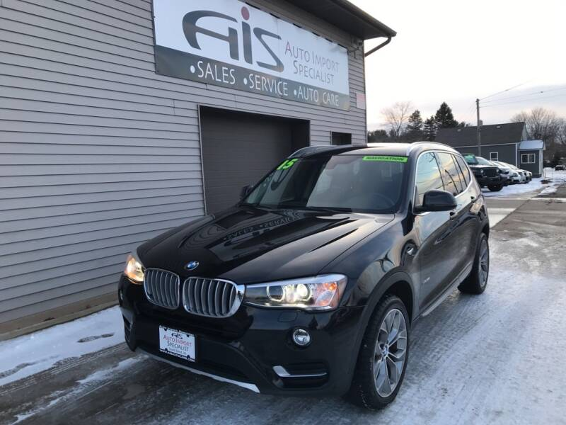 2015 BMW X3 for sale at Auto Import Specialist LLC in South Bend IN
