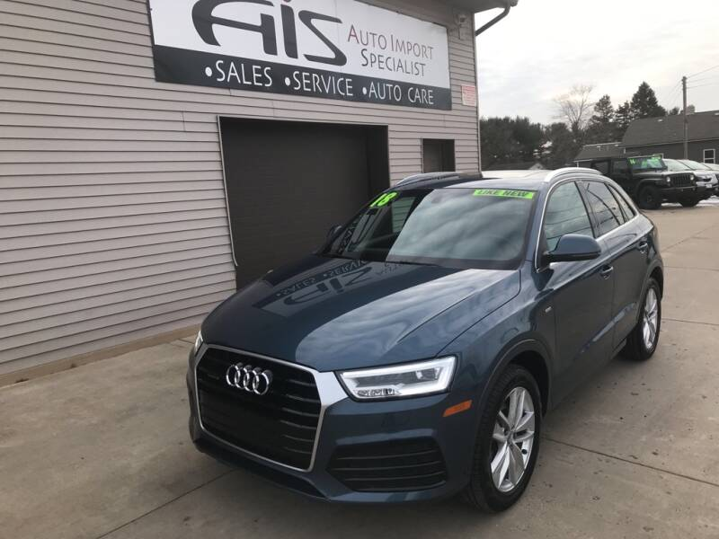 2018 Audi Q3 for sale at Auto Import Specialist LLC in South Bend IN