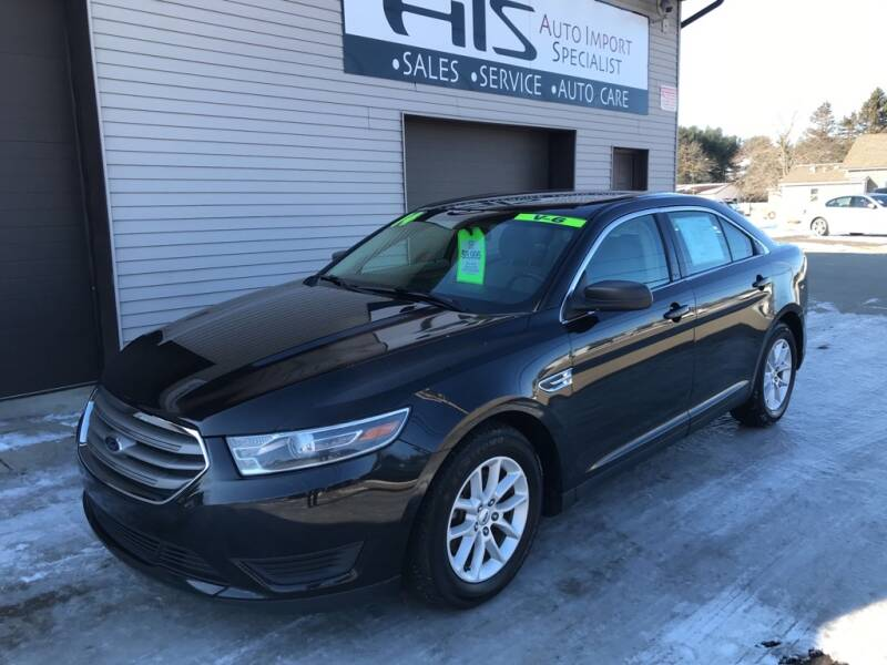 2014 Ford Taurus for sale at Auto Import Specialist LLC in South Bend IN