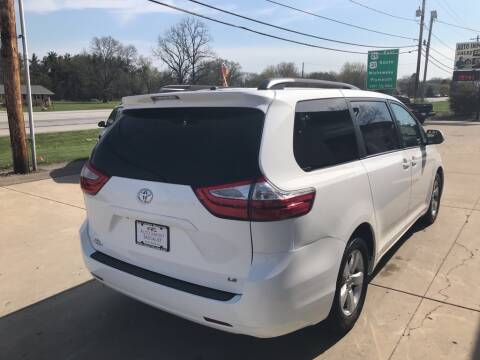 2016 Toyota Sienna for sale at Auto Import Specialist LLC in South Bend IN