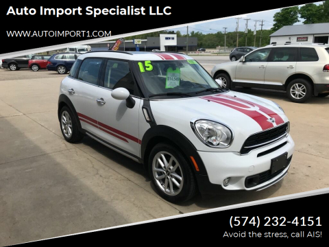 2015 MINI Countryman for sale at Auto Import Specialist LLC in South Bend IN