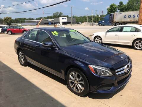 2015 Mercedes-Benz C-Class for sale at Auto Import Specialist LLC in South Bend IN