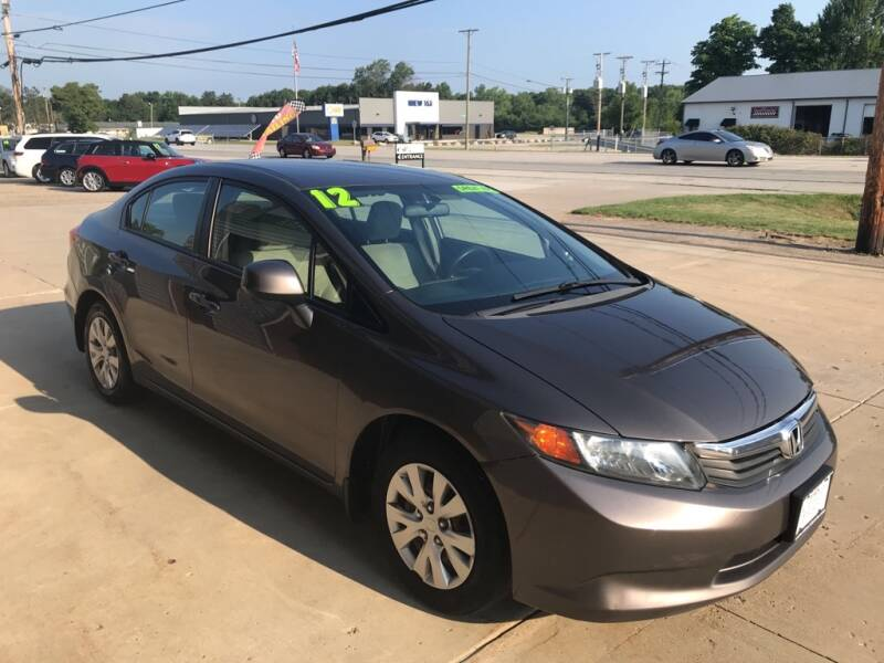 2012 Honda Civic for sale at Auto Import Specialist LLC in South Bend IN