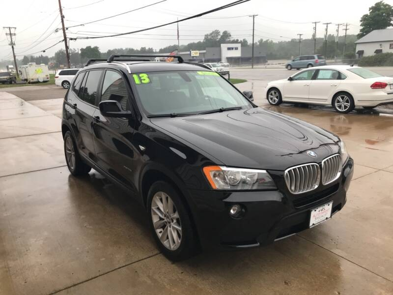 2013 BMW X3 for sale at Auto Import Specialist LLC in South Bend IN