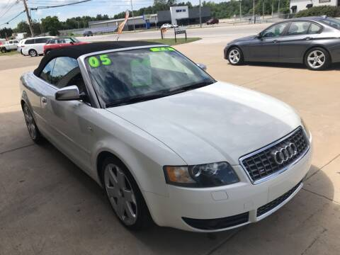 2005 Audi S4 for sale at Auto Import Specialist LLC in South Bend IN