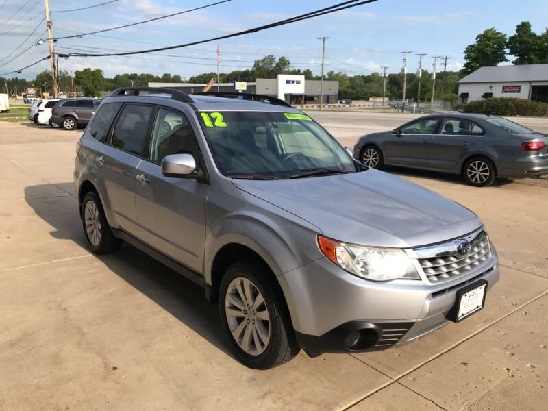 2012 Subaru Forester for sale at Auto Import Specialist LLC in South Bend IN