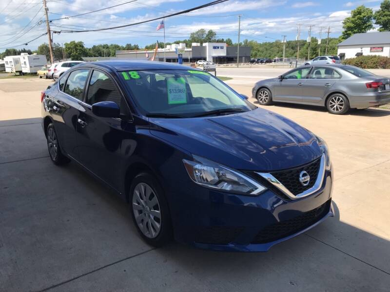 2018 Nissan Sentra for sale at Auto Import Specialist LLC in South Bend IN