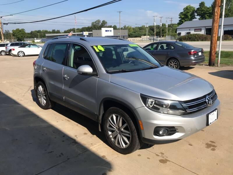 2014 Volkswagen Tiguan for sale at Auto Import Specialist LLC in South Bend IN
