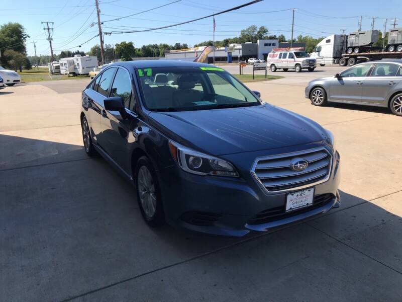 2017 Subaru Legacy for sale at Auto Import Specialist LLC in South Bend IN