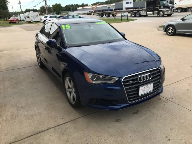 2015 Audi A3 for sale at Auto Import Specialist LLC in South Bend IN