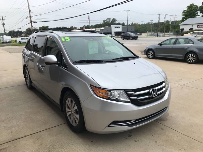 2015 Honda Odyssey for sale at Auto Import Specialist LLC in South Bend IN