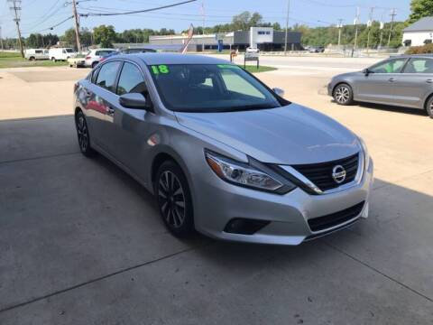 2018 Nissan Altima for sale at Auto Import Specialist LLC in South Bend IN