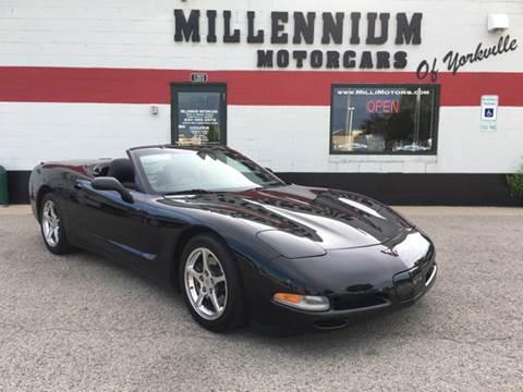 2002 Chevrolet Corvette for sale at Millennium Motorcars in Yorkville IL