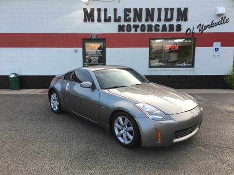 2003 Nissan 350Z for sale at Millennium Motorcars in Yorkville IL