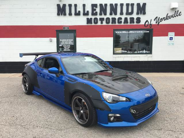 2014 Subaru BRZ for sale at Millennium Motorcars in Yorkville IL