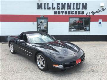 2001 Chevrolet Corvette for sale at Millennium Motorcars in Yorkville IL